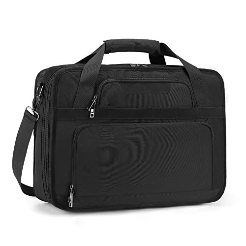 Estarer 17-17.3 inch Laptop Briefcase Business Laptop Bag Large Messenger Shoulder Bag for Business College Travel