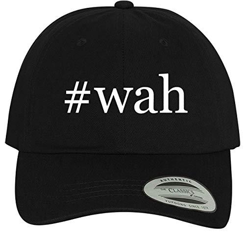 BH Cool Designs #wah - Comfortable Dad Hat Baseball Cap, Black