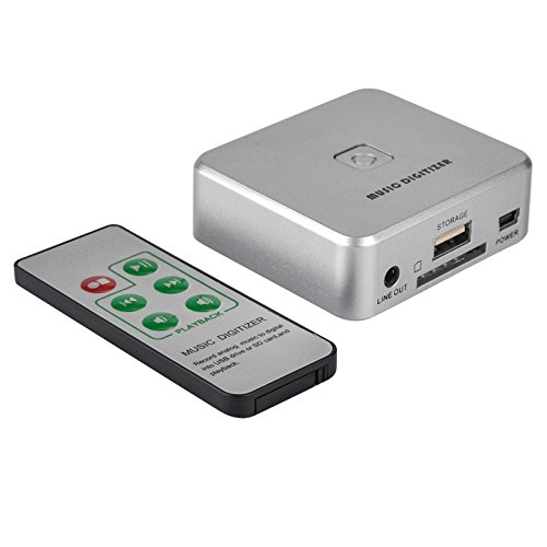 KX241 Music to MP3 Converter, convert old analog audio to mp3,save into USB Drive or SD Card directly KASSEXUN KX170301241