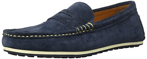 Allen Edmonds Men's Turner Penny Driving Style Loafer Navy Suede 9.5 D US