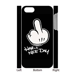 iphone4 Phone Case White Fuck You UYUI6791924