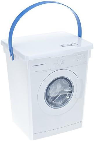 Viani - Caja de almacenamiento de detergente y 1 paño de ...
