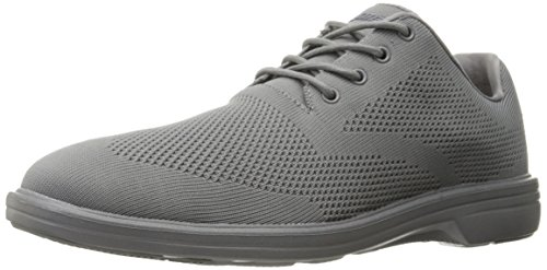 Skechers USA Men's Walson Dolen Oxford,Light Gray,10.5 M US (Light Gray Mens Shoes)