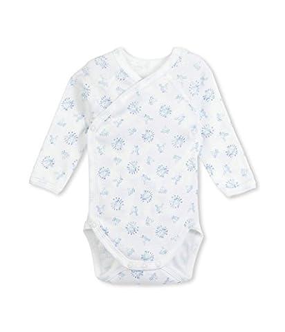 Petit Bateau Baby-Boys' Bodysuit (1 month) - Petit Bateau Kimono Onesie
