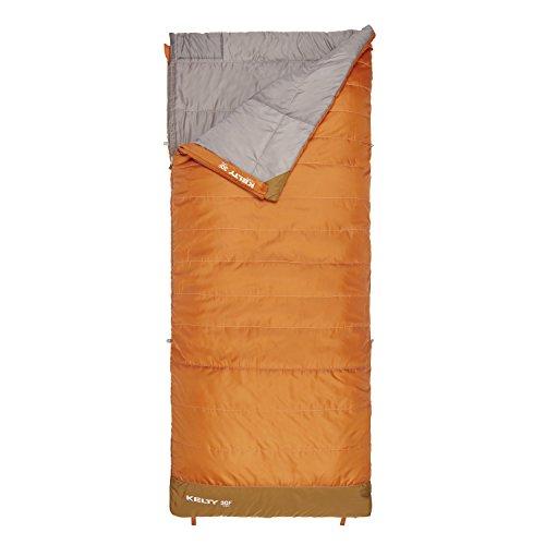 Kelty Callisto 30 Degree Long Sleeping Bag, Apricot Orange