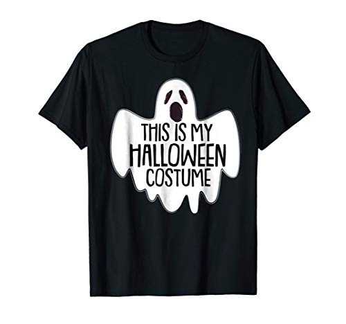 This Is My Halloween Costume T Shirt Trick Or Treat Gift