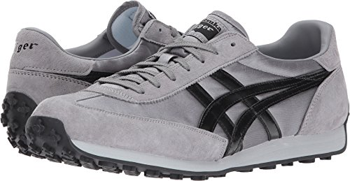 Onitsuka Tiger by Asics Unisex EDR 78 Silver/Black 13 D(M) US