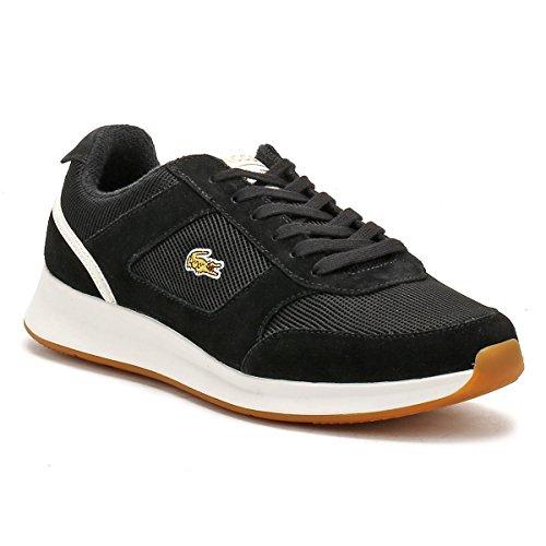 Lacoste Hombres Negro / Blanco Joggeur 317 2 Zapatillas