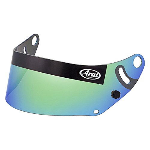 Arai GP6 Series SK6 Mirror Shield - Mirror Green by Arai