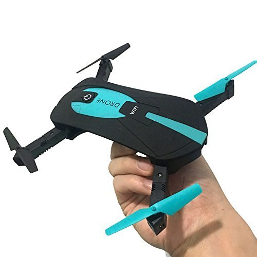 Mini WIFI RC Drone with Camera 2MP HD Camera Live Video Foldable Selfie RC Drone Pocket Altitude Hold Helicopter WIFI Drone Camera 720P HD MINI Drone
