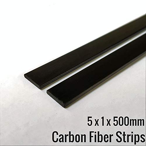 Vortex-RC Carbon Fiber/Carbon Fibr Strip Flat (2Pcs) Size: 5MM x 1MM x 500MM (B07KSWNLS7) Amazon Price History, Amazon Price Tracker