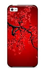Case Cover Skin For ipod touch4 (black And Red)