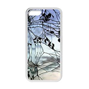 Cracked Glass With Branch Fashion Personalized Phone Case For Iphone 5C
