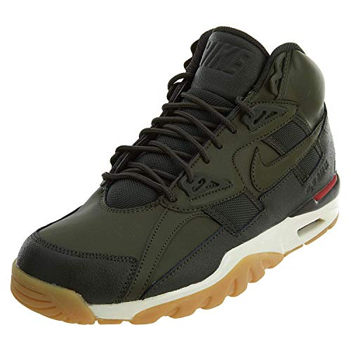 Nike Air Trainer SC Winter Mens Shoes Cargo Khaki/Cargo Khaki aa1120-300 (8 D(M) US) (Nike Sc Trainer High)