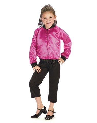 T-Bird Sweetie Costume Girl - Child 4-6 (Fifties Thunderbird Jacket Child Costume)