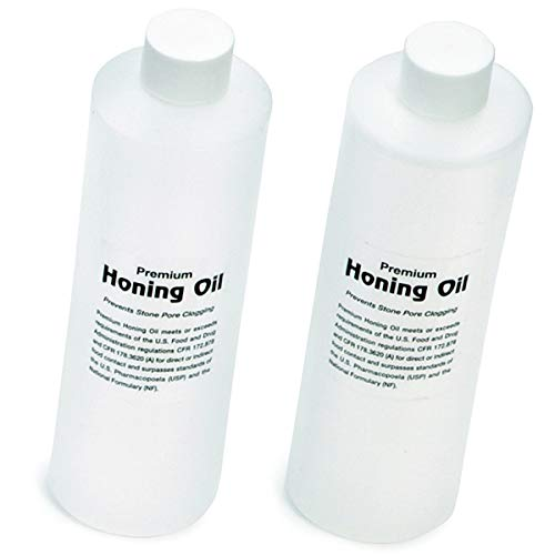 - TableCraft MHOIL 16 Ounce Premium Honing Oil