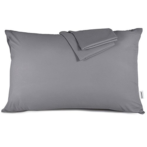 - Pillow Cases Standard Size, Adoric Pillow Case Standard /Queen Size Set of 2 Ultra-Soft Microfiber Pillowcases Wrinkle Fade Resistant Pillow Protectors, Grey