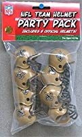 Riddell 9585533020 New Orleans Saints Team Helmet Party Pack