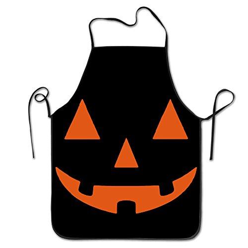 [LANTERN PUMPKIN Halloween Professional Chef Unisex Apron] (Comical Halloween Costumes)