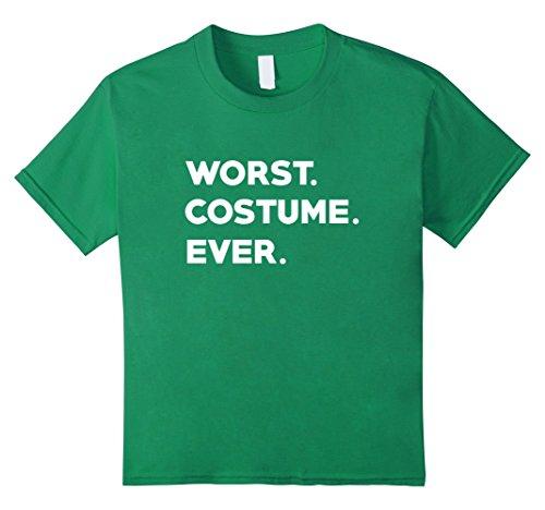 Kids WORST COSTUME EVER - Funny Fancy Dress Halloween T-Shirt 10 Kelly -