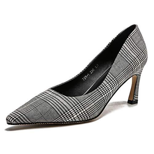 In Da Tacco Lady Donne Donna Pompe amp; Fibbia Wedding Evening Elegante Pointed Un Metallo Sexy Le Scarpe Fashion Dress Alto Yan New Shoes Party w1xqA4zPXX