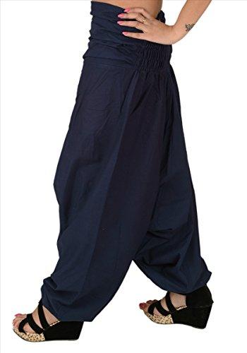 Scarves viola amp; colore in Blue da Skirts donna Pantaloni per cotone 1 yoga SqfTvd5