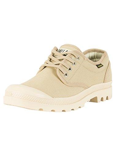 Palladium Unisex-adult Pampa Oxford Originele Sneaker, Bruin, Ecru 47 Eu Sahara