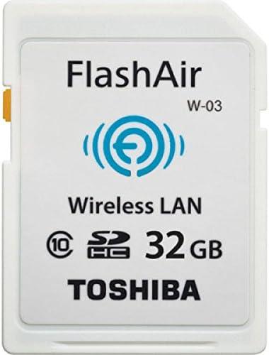 Toshiba 32GB FlashAir Wi-Fi LAN W-02 SDHC CL10 memory card