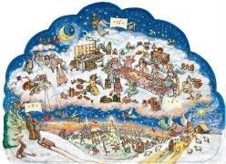 Die Himmelsbäckerei: Adventskalender mit 24 himmlischen Backideen und Gedichten