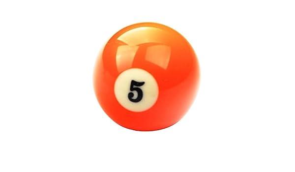 Black Temptation 1 PCS Cue Sport Snooker USA Pool Bolas de Billar 57.2 mm / 2-1/4 - NO.5: Amazon.es: Deportes y aire libre