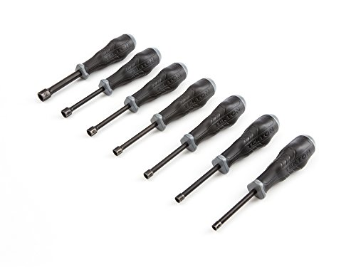 - TEKTON Nut Driver Set, Metric, 5 mm - 10 mm, 7-Piece | 26974
