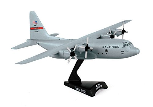 (POSTAGE STAMP PS5330 PLANES USAF C-130 HERCULES TRANSPORT 1/200 METAL AIRCRAFT .HN#GG_634T6344 G134548TY39690)