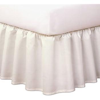 Amazon Com Magic Skirt Tailored Bedskirt Never Lift Your Mattress
