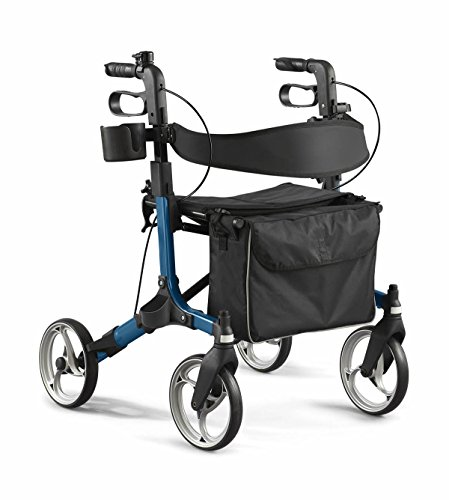 Medline MDS86835BEURO Simplicity Rollator Walker