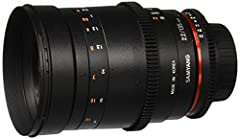 On the heels of the recently introduced Samyang 12mm Fisheye and 50mm F1.4 lenses, Samyang expands its already impressive Full Frame Prime Lens lineup with the Samyang VDSLR II 135mm T2.2 ED UMC Digital Telephoto Cine Lens. This high speed te...