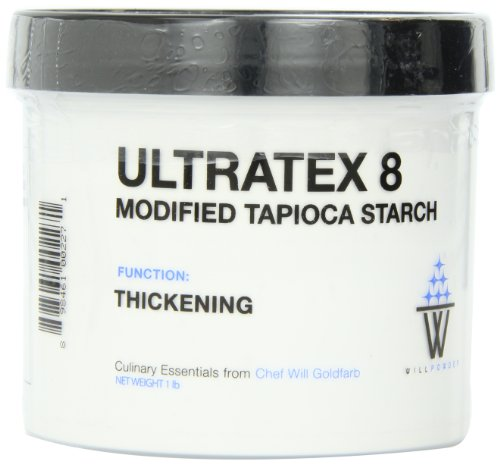WillPowder Ultratex 8, Thickening Function, 16-Ounce Jar