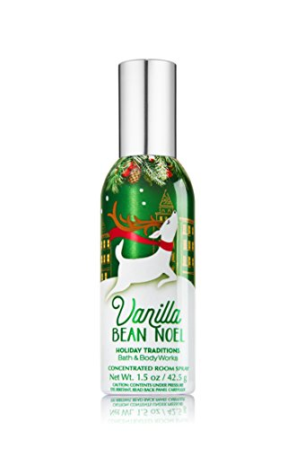 Bath & Body Works Room Perfume Spray Vanilla Bean Noel
