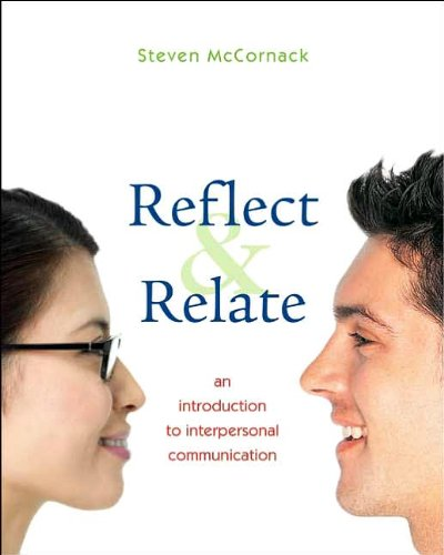 Reflect and Relate (text only) 1st (First) edition by S. McCornack