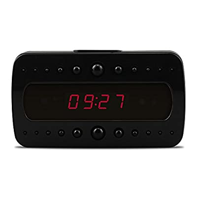 Eyeclub Wi-Fi Hidden Camera Alarm Clock Full HD 1080P Security Camera Wireless Motion Activated Alarm Spy Camera Real-time Video Baby Monitoring Nanny Cameras and Hidden Cameras from Eyeclub