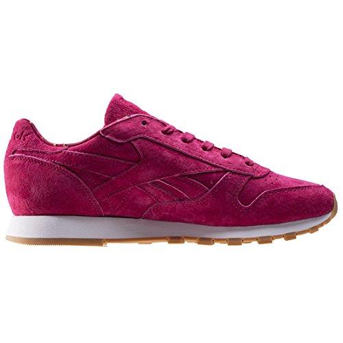 Reebok CL Leather TDC W Calzado Rosa