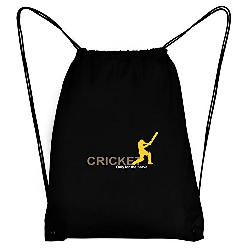 Teeburon Cricket Only for the brave Sport Bag by Teeburon