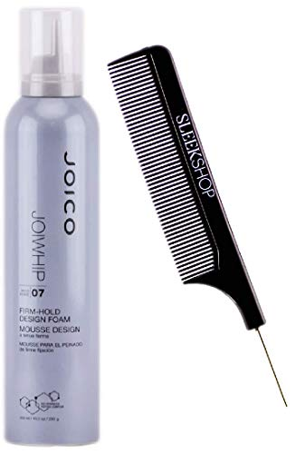 Joico JOIWHIP 07 Hold FIRM-HOLD DESIGN FOAM (Stylist Kit) Bio-Advanced Peptide Complex Mousse (10.2 oz / 300 ml)