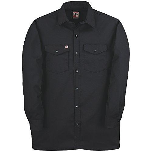 Big Bill Twill Work (5X Big Bill Codet Premium 6 Ounce Twill Navy Long Sleeve Work Shirts)