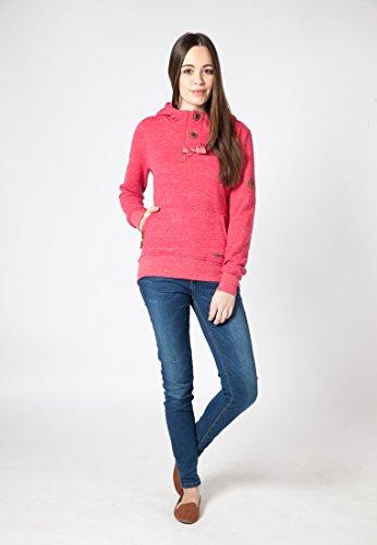 alife and kickin Pullover Maya Sweat - Jersey para mujer fucsia