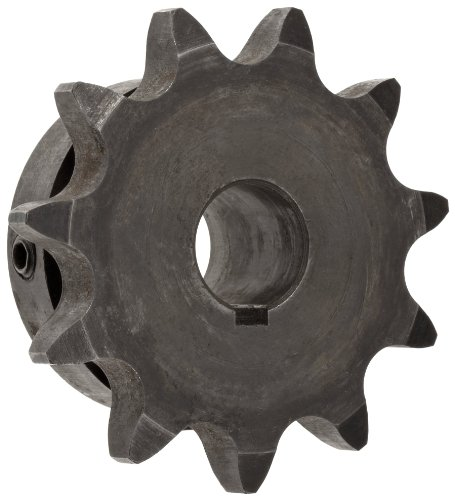 Martin Roller Chain Sprocket, Hardened Teeth, Bored-to-Size, Type B Hub, Single Strand, 50 Chain Size, 0.625