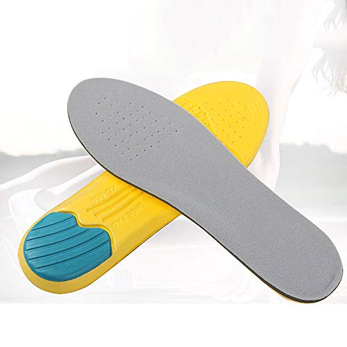 Dunnomart Silicone Sport Shoes Pad Comfortable Gel Insoles Men Massage Sole Women Orthotic Insoles Inserts Shock Absorption Pads