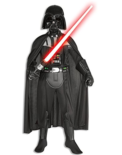 (Rubies Star Wars Classic Child's Deluxe Darth Vader Costume and Mask,)