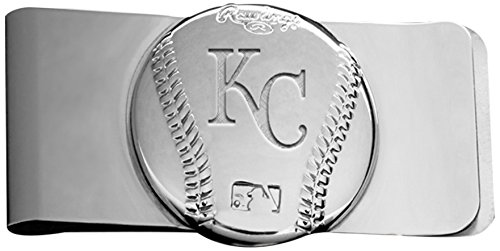 Rawlings Sports Accessories Wallet (MLB Kansas City Royals Engraved Money Clip)