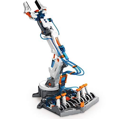 "41dAZCM8NpL - Elenco Teach Tech ""Mech-5"", Programmable Mechanical Robot Coding Kit, STEM Building Toy for Kids 10+"