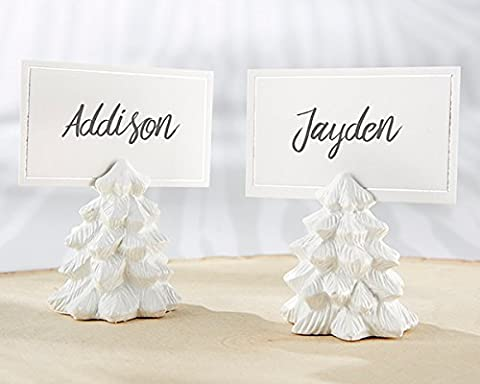 144 White Pine Tree Place Card Holders - Tree Place Card